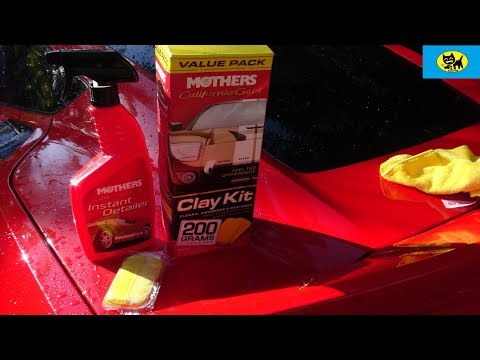 Mothers California Gold Clay Bar System - Does it work??
