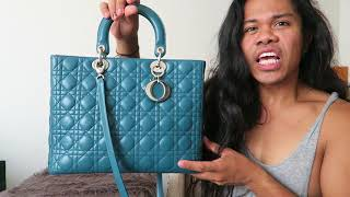 Dyeing a $5000 Lady Dior Lambskin Bag Part 2 | The Reveal!!!