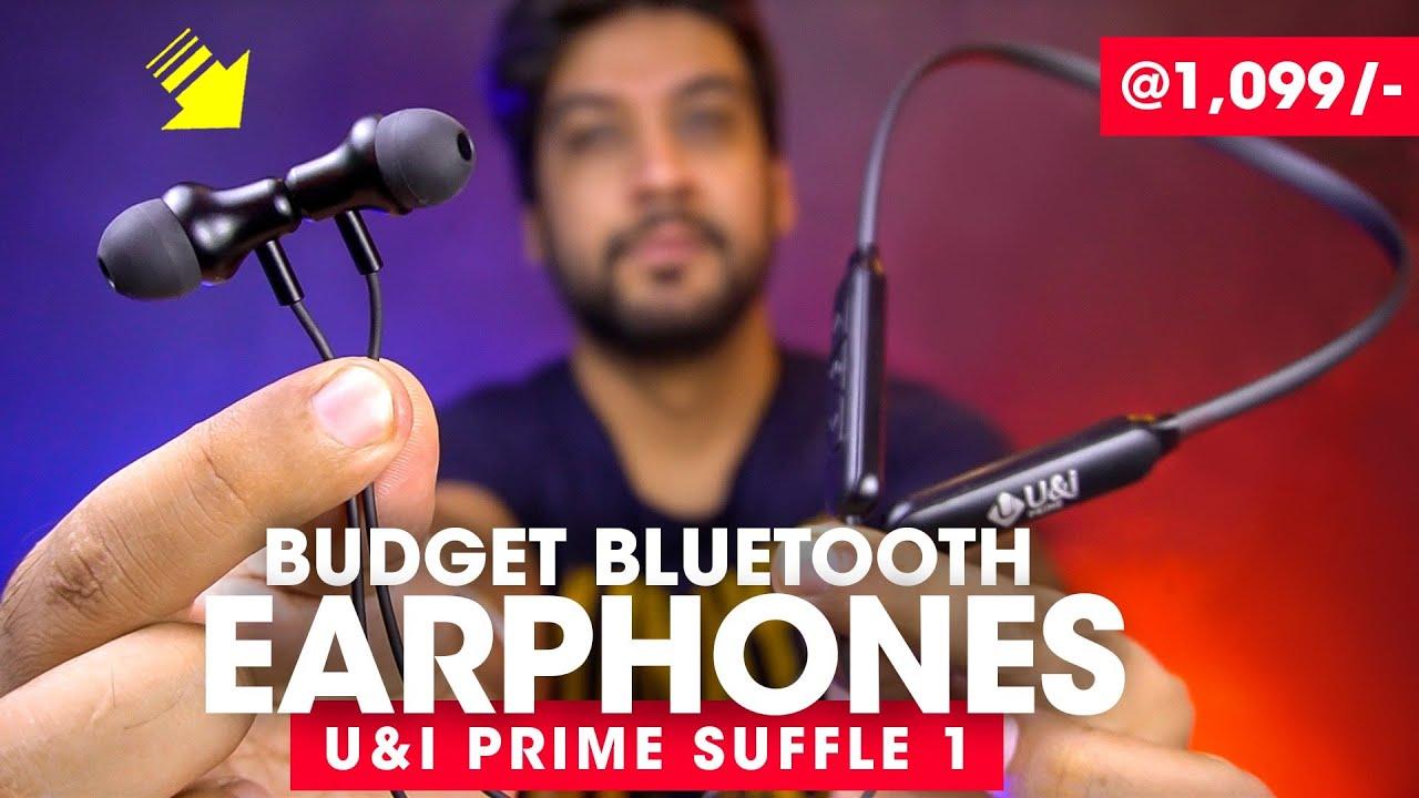 Best Budget Bluetooth Earphones 2021 ⚡️ U&i Prime Shuffle 1 Neckband Unboxing & Review #AmanDhingra