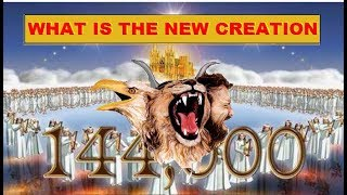 144,000 - Living STONES of new JERUSALEM -  Your place in the NEW UNIVERSE-TEMPLE of God