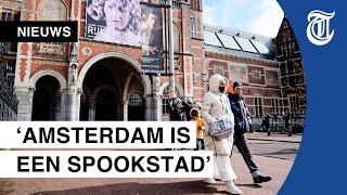"""Toeristen geschokt door spookstad Amsterdam: """"Nog nooit zo stil gezien"""""""