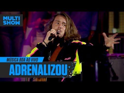 Vitor Kley  Adrenalizou  Música Boa Ao Vivo  Música Multishow