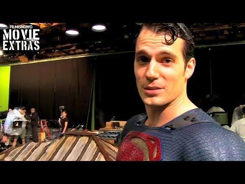 "Batman v Superman: Dawn of Justice ""Superman Stunts"" Featurette (2016)"