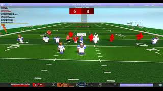 [Roblox LFL] Omaha Mustangs vs West City Dragons Highlights