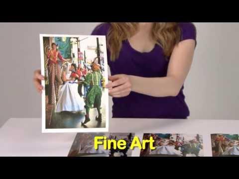 Pearl Finish Photo Printing Arts Arts