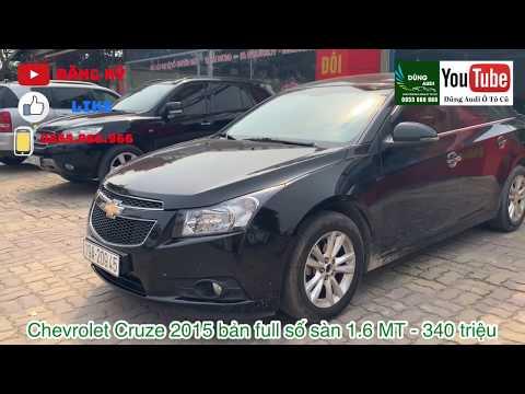 Chevrolet Cruze 2015 Bản Full Số Sàn 1.6 MT - Xe đẹp, Cực Chất - Giá 340 Triệu Thôi - 0855.966.966