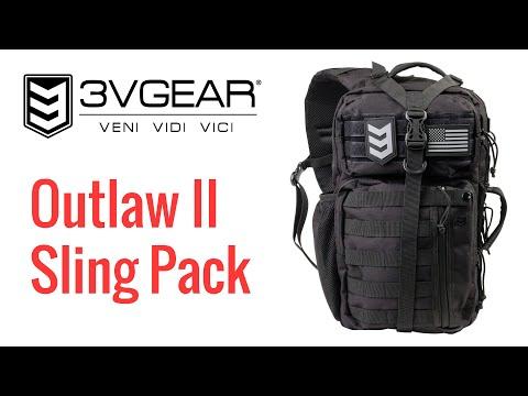 3V Gear Outlaw II Sling Pack Review – Best Value EDC Bag?