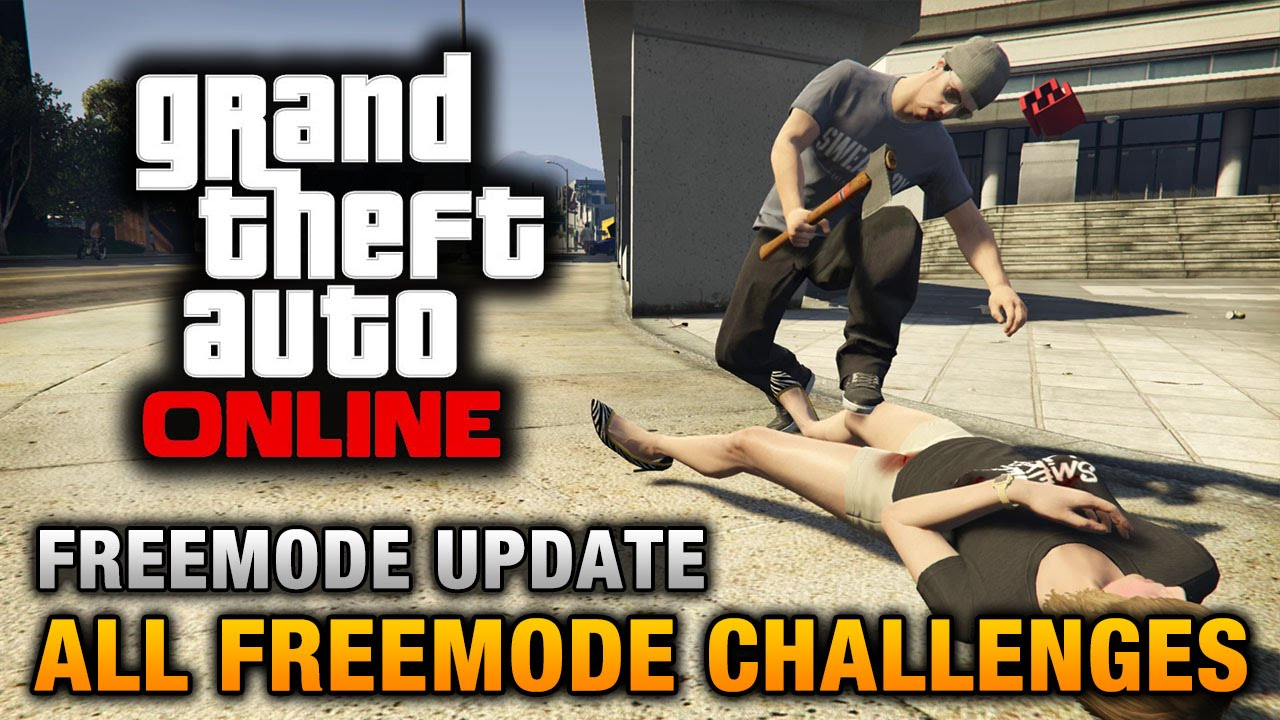 GTA Online - All Freemode Challenges - YouTube