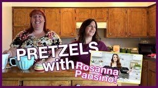 MAKING SOFT PRETZELS WITH ROSANNA PANSINO!
