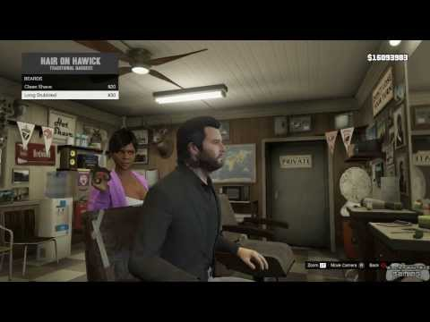 GTA 5 - All Characters Haircuts (Requested by: Kauan Santos)