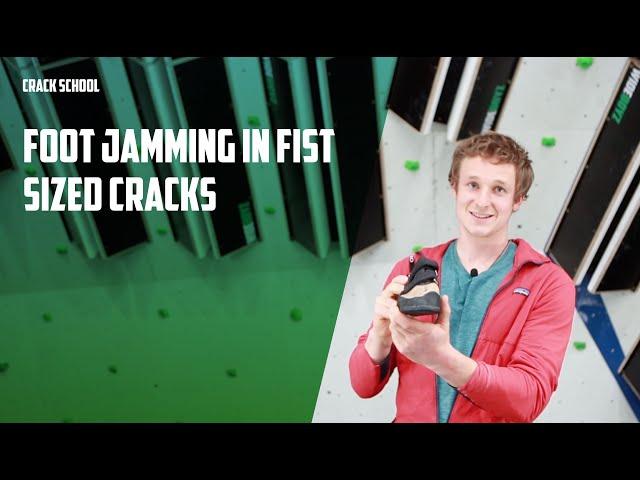 Foot jamming in fist cracks | Wide Boyz Crack School