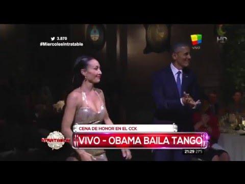 Mora Godoy dio detalles del baile de tango de Obama
