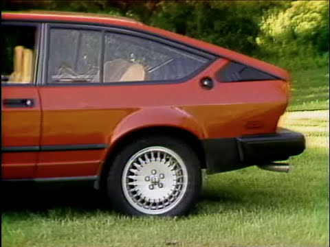 MotorWeek | Retro Review: '86 Alfa Romeo GTV-6