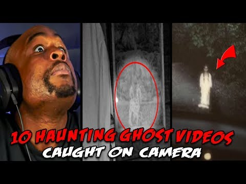 10 Haunting Ghost Videos Caught On Camera REACTION!