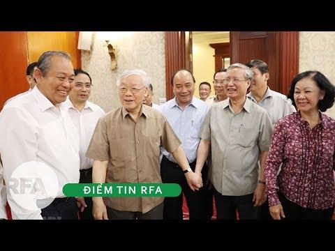 Điểm tin RFA | Ông Trọng tái xuất chủ trì họp Bộ Chính Trị