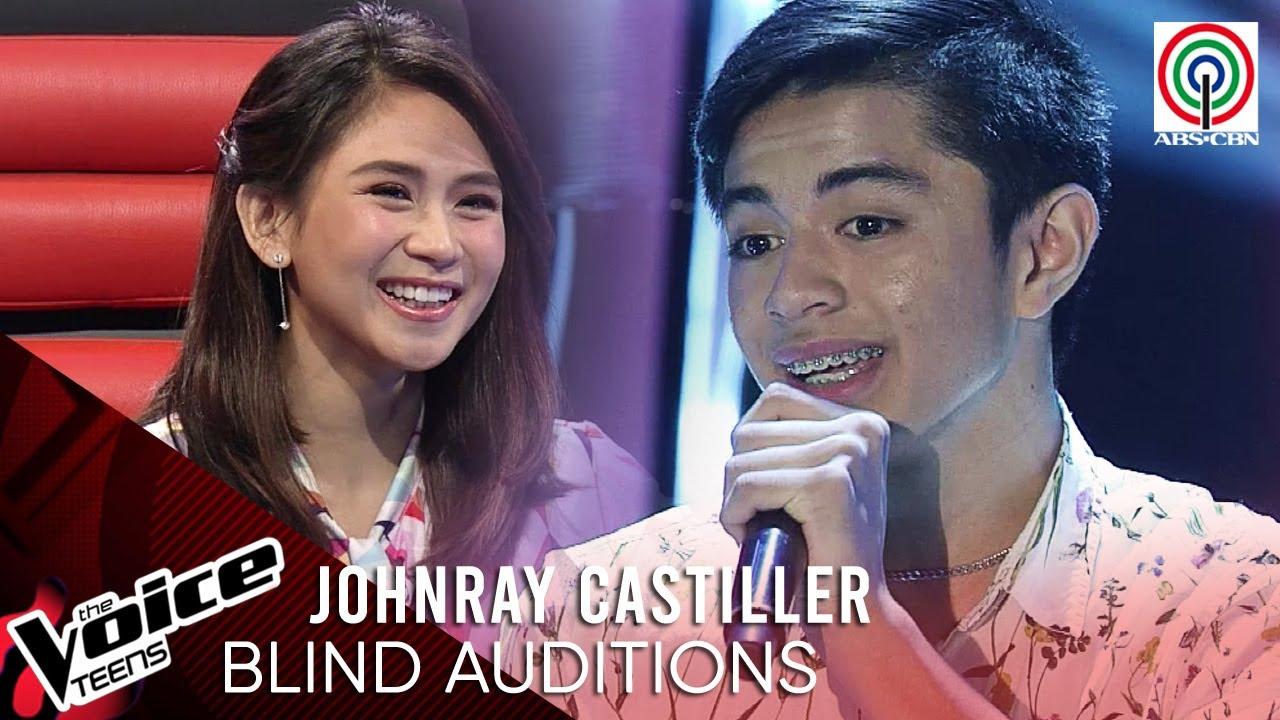 Johnray Castiller - Kahit Maputi Na Ang Buhok Ko   Blind Audition   The Voice Teens Philippines 2020