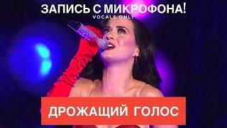 Голос с микрофона Katy Perry - California Gurls (Голый голос)