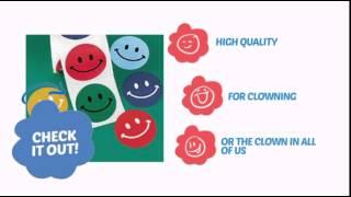 Smiley Face Stickers - ClownAntics.com