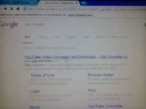 Youtube Clip Converter Wont Start Problem (Saturday Nov 22 2014)