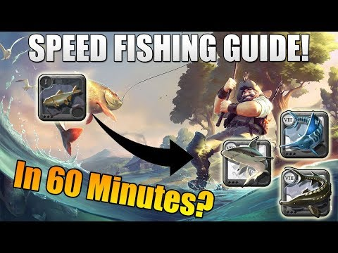 Albion Online - SPEED Fishing Guide! T8 Fishing In 60 Minutes! Most Cost Efficient Fishing Strategy!