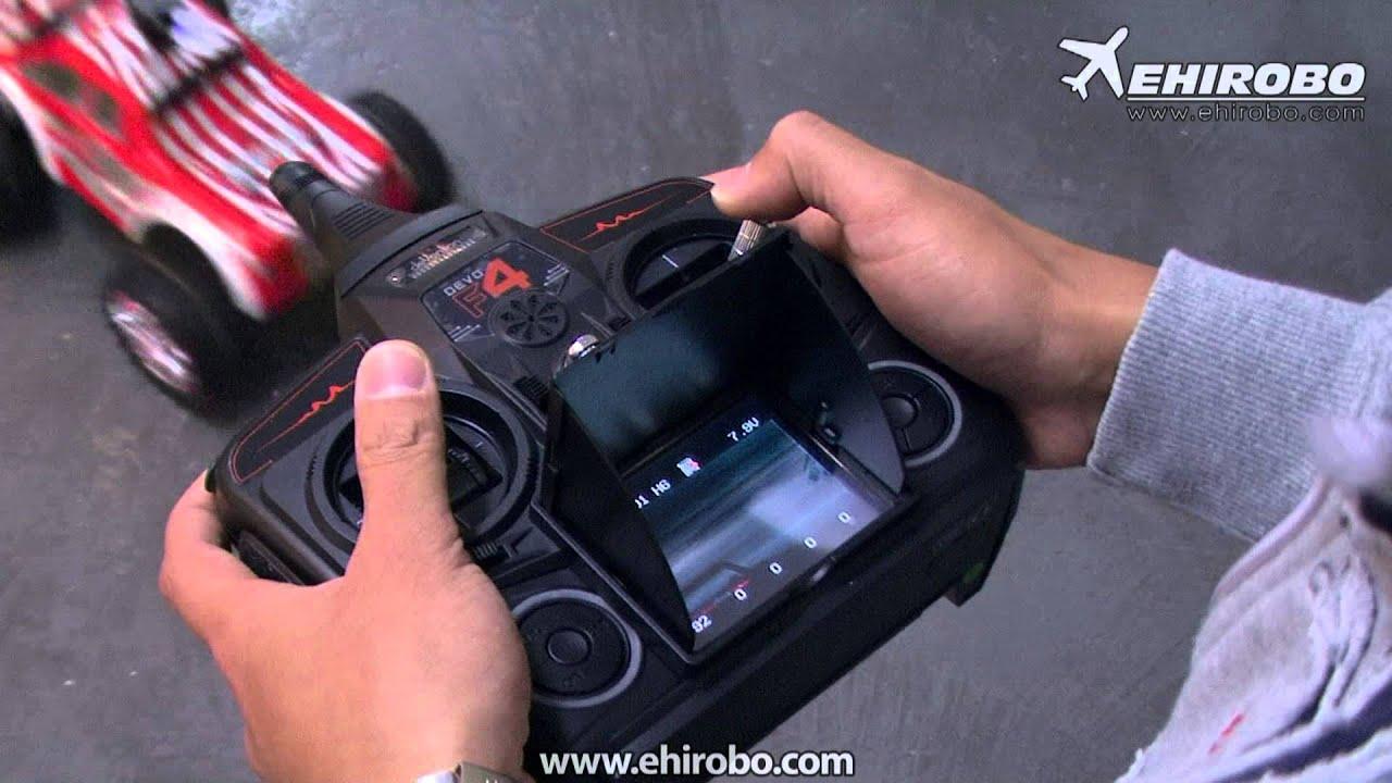 eHIROBO.com - WALKERA RC-F01 FPV HD Camera 1/10 2WD Monster Truck DEVO ...