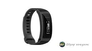 видео Фитнес-браслет Huawei TalkBand B3 ACTIVE Black