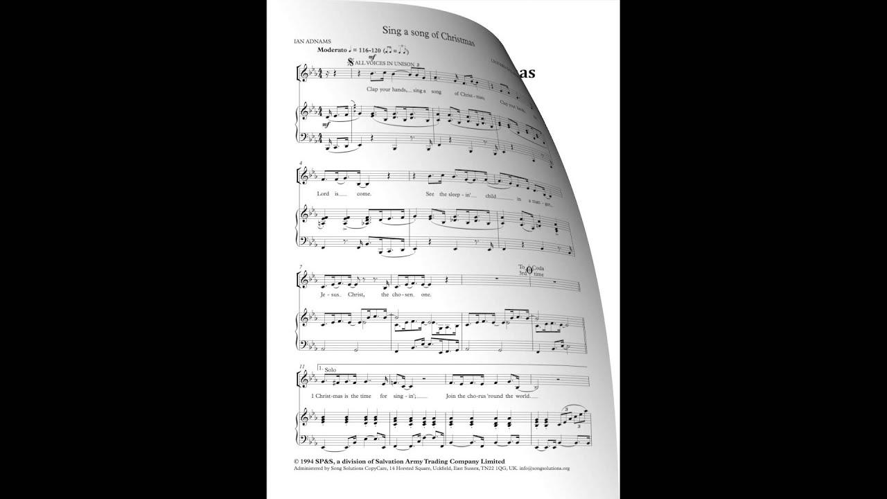 Sing a Song of Christmas - Music: Leonard Ballantine Lyrics: Ian ...