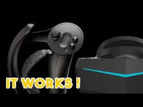Index Controllers & Pimax (Switch on Subtitles) : Comment jouer avec les  deux en simultané