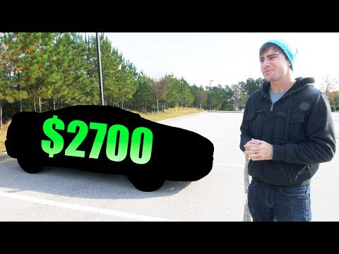 My $2700 Project Car Reveal! - Yes, it was a good decision.