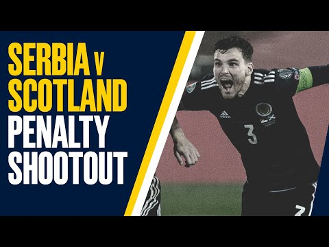 ALL THE PENALTIES from Serbia v Scotland | UEFA EURO 2020 Play-Off Final