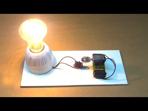 Free Energy Generator Magnet Coil | 100% Working Technology | Electrical Mini Project For Students