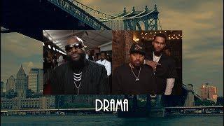 "Nas x Rick Ross type beat ""Drama"" | Sample Piano East Coast Hip Hop instrumental | OmikronBeats"