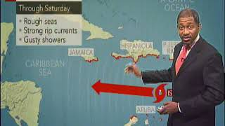 Caribbean Travel Weather - Saturday September 15th To Sunday September 16th 2018