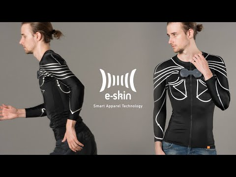Xenoma E-skin MEVA Motion Capture System Without Cameras Just Using Smart Clothing
