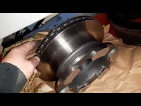 Iveco Truck Brake Pads And Brake Discs Change / How To Change Iveco Truck Brake Discs