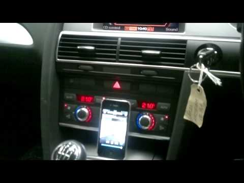 Fiscon Audi A6 with Music Streaming