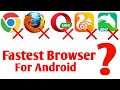 Gambar cover Fastest browser for Android 2020 | Best Internet browser for Android 2020