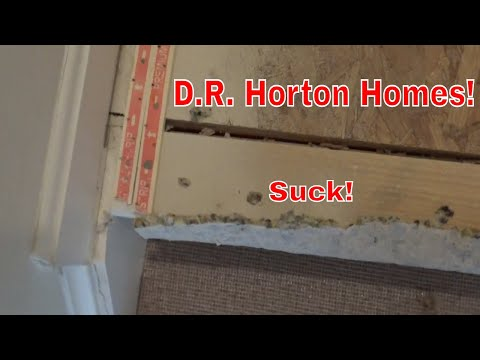 D.R. Horton Houses Suck! Our House Is So Badly Made! 🏠