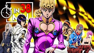 JOJOS BIZARRE ADVENTURE PART 5 IN 38 MINUTEN