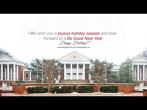 University of Maryland 2016 Holiday Greetings!