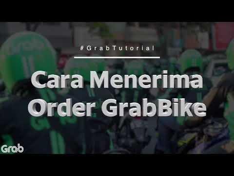 Cara Menerima Order Grabbike Youtube