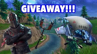 BLACK KNIGHT ACCOUNT GIVEAWAY + MAKO GLIDER - Fortnite Battle Royale