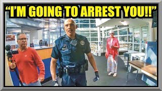 """""""I'M GOING TO ARREST YOU !""""- Police Department Lakewood CO- First Amendment Audit - Amagansett Press"""