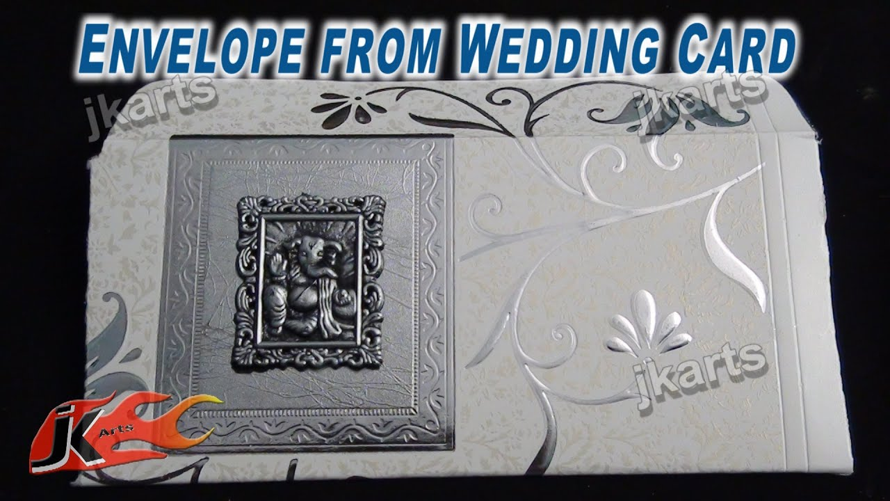 Diy shagun envelope from wedding card best out of waste jk arts diy shagun envelope from wedding card best out of waste jk arts 230 youtube stopboris Gallery