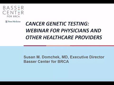 Genetic Testing Resources | Basser Center
