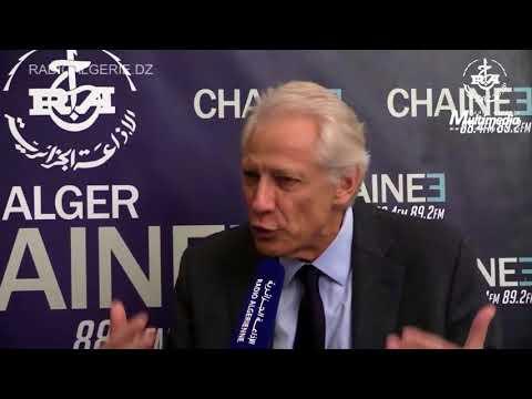 M. Dominique de Villepin invité de la rédaction de la Radio Chaîne 3