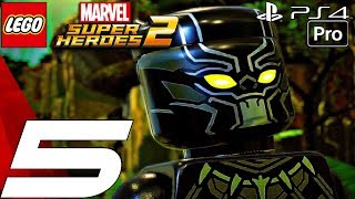 LEGO Marvel Super Heroes 2 - Gameplay Walkthrough PART 5 - Black Panther Vs. Man-Ape (PS4 PRO)