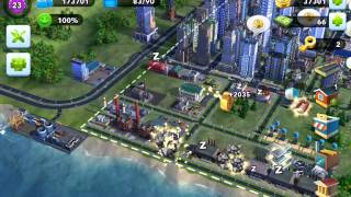 Simcity BuildIt - Cargo ship dock