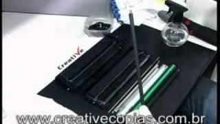 Video Recarga Toner Samsung ML-1665, ML-1660, SCX-3200, SCX-3217, D104S