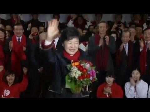 Park Geun-hye is S Korea's woman at the top